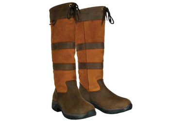 Dublin Women's Tall River Boots in Brown