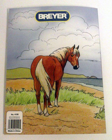 Breyer h is for horse coloring sticker activity book for Breyer coloring pages