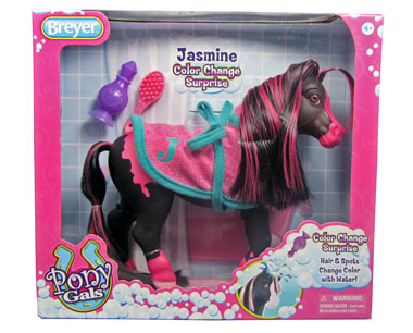 Breyer Pony Gals Jasmine Color Change Surprise 7105