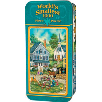 World S Smallest 1000 Piece Puzzle Afternoon Treats