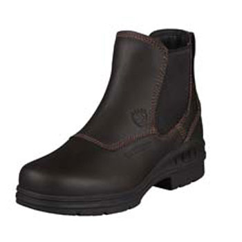 Ariat Women's Barnyard Twin Gore H20 Boots in Dark Brown