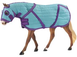 Breyer Quilted Blanket & Hood Set 2040