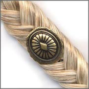 Creme Horse Hair Barrette