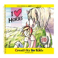 I Love Horses Coloring & ARTivity Book