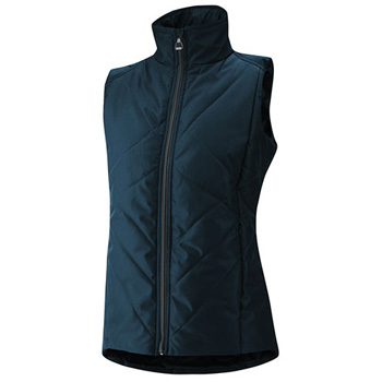Irideon Cross Rail Quilted Vest in Starry Night