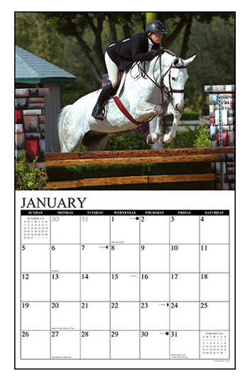 Hunter & Jumper 2014 Wall Calendar