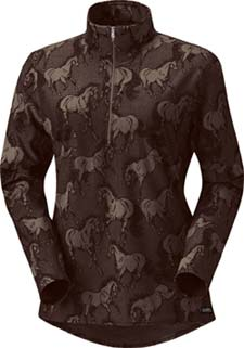 Kerrits Unbridled Half Zip Riding Shirt