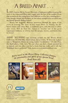 Breyer Horse Collection - Mercury's Flight, The Story of a Lipizzaner Stallion, Hardcover |ISBN-10:0-312-38427-2|ISBN-13:9780312384272