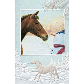 Nose to Nose Boxed Holiday Cards