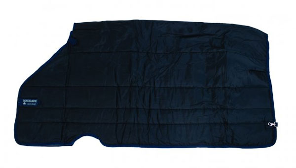 Horseware Heavy 400g Turnout Liner in Navy with Navy