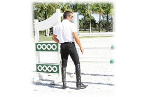 TuffRider Men's Patrol Breeches in Black
