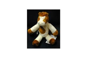 Brown and White Horse Rattle by Douglas Toys
