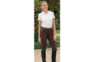 The Tailored Sportsman TS Low Rise Knee Patch Breeches in Bark