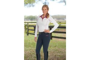 Romfh International Full Seat Breeches in Navy Blue