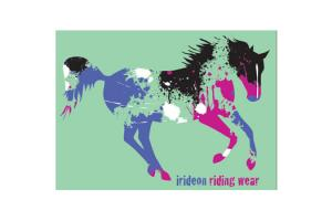 Irideon Kids Paint Tee in Mint Julep