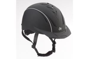 Ovation Black Sync Riding Helmet