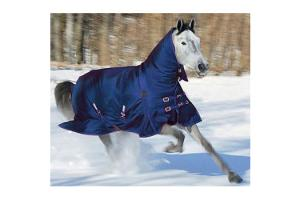 Shires Stormcheeta Navy Heavy Combo Turnout Rug