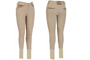 Baker Elite Knee Patch Breeches in Safari