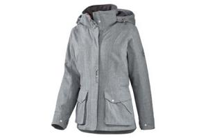 Ariat Women's Bergen Waterproof Insulated Jacket in Charcoal