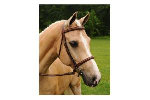 Arc De Triomphe Imperial Bridle in Brown