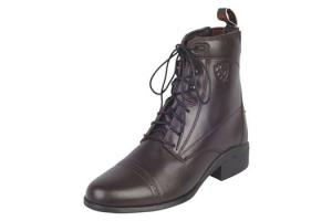 Ariat Women's Heritage III Lace Paddock Boots in Chocolate Brown