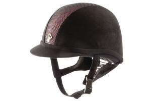 Charles Owen Black and Pink AYR8 Helmet