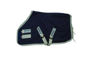 Amigo Stable Sheet Navy Silver