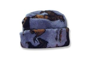 Wild Horses Fleece Hat