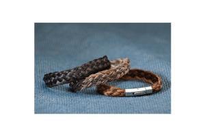Basket Weave Horse Hair Bracelet by Cowboy Collectibles