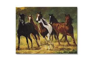 Running Horses Note Cards by Chris Cummings