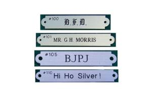 Custom Bridle Plates