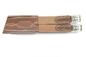 Arc De Triomphe Brown Fancy Elastic Overlay Contour Girth
