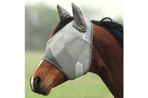 Cashel Crusader Fly Mask - Double Velcro, Size: Mini (Foal)