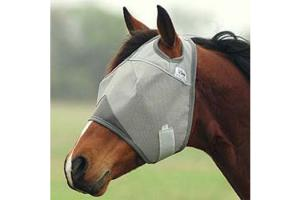 Cashel Crusader Fly Mask - Double Velcro, Size: Draft