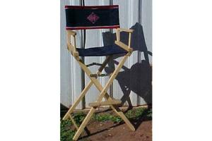 KR's Custom Horse Show Bar Height Directors Chair