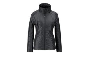 Irideon Cross Rail Quilted Jacket in Graphite