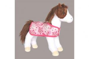 Daphne Pinto Horse with Blanket