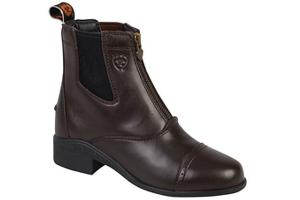 Ariat Kids Devon III Paddock Boots in Chocolate Brown