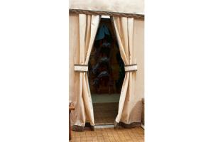 Custom Horse Show Door Drapes by Integrity Linens
