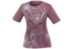 Kerrits Kids Frolik Horse Tee Dusty Rose
