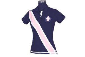 Equine Couture Bermuda Polo Shirt in Navy