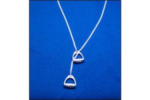 Stirrup Toggle Necklace