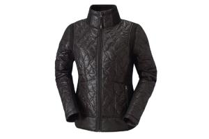 Kerrits EQ Moto Quilted Jacket in Black