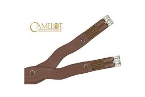 Camelot Close Contact Oakbark Shaped Girth