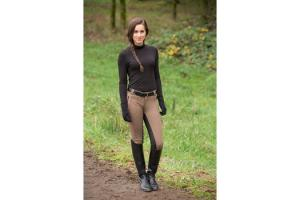 FITS PerforMAX Duet All Season Full Seat Breeches in Mocha and Black