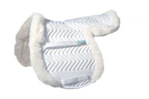 Fleeceworks Therawool Show Hunter Partial Trim Full Pad in White