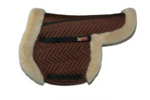 Fleeceworks FXK Partial Trim All Purpose Saddle Pad