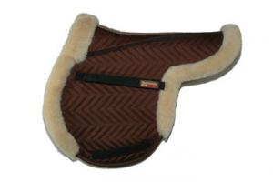 Fleeceworks FXK Classic Close Contact Partial Trim Pad in Brown