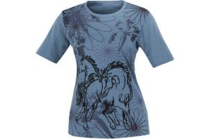 Kerrits Kids Frolik Horse Tee French Blue
