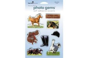 Sticky Pix Photo Gems  Horse